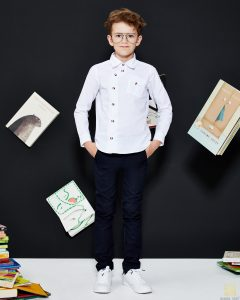 spodnie dla chłopca Back to School