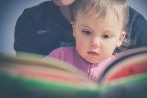 dziecko książeczka